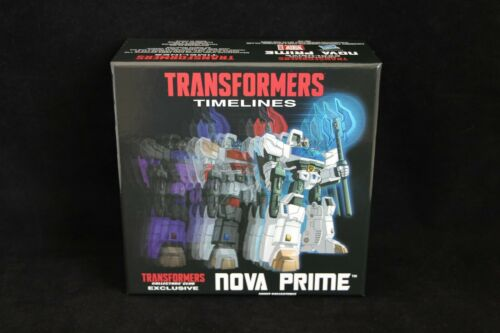 Transformers Collector/'s Club Exclusive TFCC Botcon Nova Prime Figure MISB