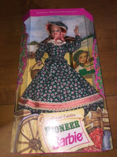 Vintage 1994 Pioneer Barbie Special Edition American Stories Collection