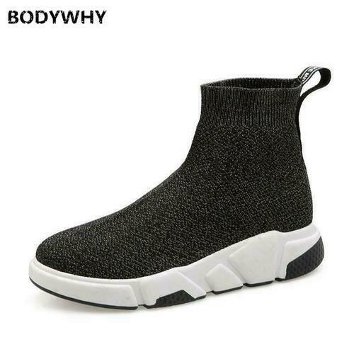 Details about  /2020 Women/'s Breathable Sneakers Running Shoes High Top Sock Shoes Sports Shoes