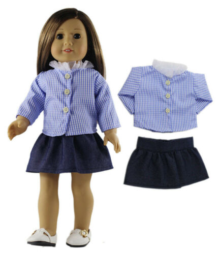 """6 Set Doll Clothes for 18/"""" American Girl Doll Handmade Casual Wear Outfit"""