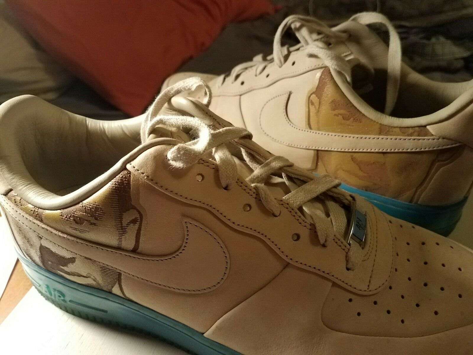 Sneaker Heads -- Men's Nike Air Force One Low Kobe Bryant Face Size 12 Rare