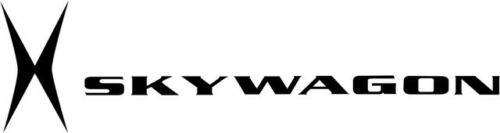 Cessna Skywagon X Aircraft Logo Decal