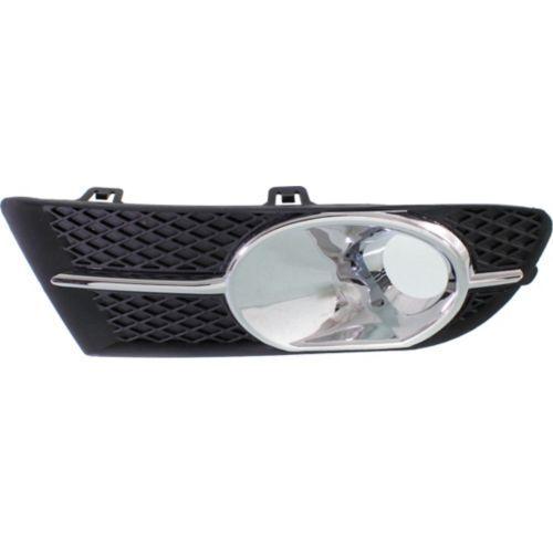 Chrome Plastic Passenger Side Fog Light Trim For Verano 12-16