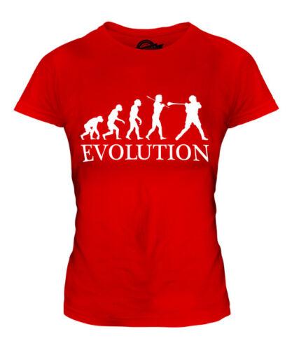 HURLING EVOLUTION OF MAN LADIES T-SHIRT TEE TOP GIFT CLOTHING
