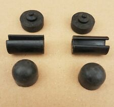 Land Rover Defender Bonnet Buffers/hinges. 332647-391287-346849 complete set
