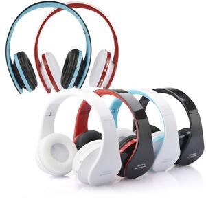 Foldable Wireless Stereo Bluetooth Headphone Earphone Headset For Samsung J4u8 Ebay