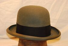 Fedora Charcoal Stetson Royal De Luxe Vintage Hat with Black Band -- Size 7  1 852f09b95364