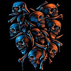 Skeleton iShield Pick Your Size T Shirt 7 X Large14 X Large