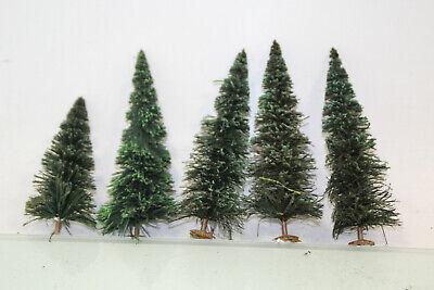 Traccia G Conifere Verde Circa 16-21 Cm Di Altezza 5 Pezzi La Raccolta Per Lgb (js7612). O-mostra Il Titolo Originale