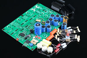 Details about V18 RIAA MM Tube phono stage amplifier kit base on EAR834 amp  (no tubes) L3-33