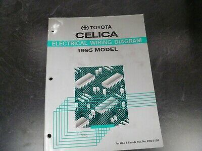 1995 Toyota Celica Coupe Hatchback Electrical Wiring Diagrams Manual St Gt 25th Ebay