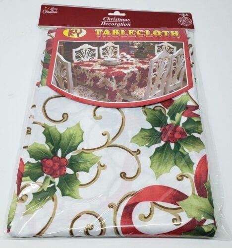 Holiday Table Cloth Rectangular 150 x 180 cm Christmas Decoration
