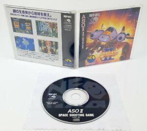 Neo Geo CD * aso II/2-Last Guardian * OVP instrucciones NTSC-J