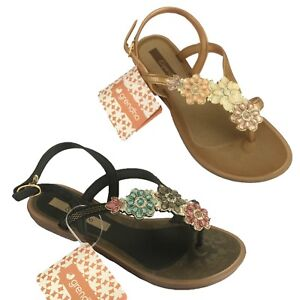 Sandale Femme Fleurs Color Grendha Avec gnPwn1x