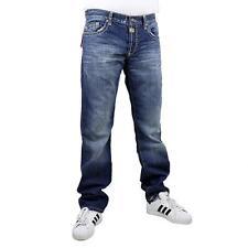 Cipo   Baxx C-0595 Denim Men s Jeans Stone Wash Trousers Blue 12035 ... 3773adf9fe