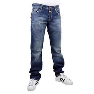 Cipo-amp-Baxx-c-0688-vaqueros-hombre-Stone-lavado-Pantalon-azul-oscuro-12448