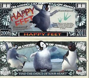 Happy-Feet-Warner-Bros-Characters-Million-Dollar-Novelty-Money