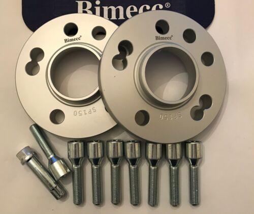 8 x M12X1.5 sintonizzatore BULLONI FI RENAULT 2 4X100 60.1 15 mm BIMECC CERCHI IN LEGA DISTANZIALE