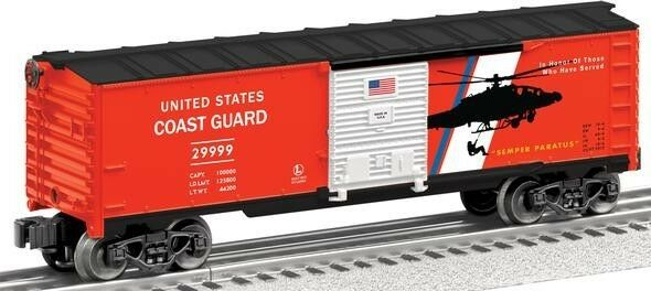 O Scale USA Coast Guard Boxcar Lionel