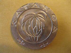 1961-Katanga-Coin-One-Franc-uncirculated-beauty-034-BANNANA-TREE-034-nice-coins