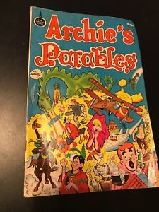 Rare-Collector-034-Archie-039-s-Parables-034-Christian-Comic-1975