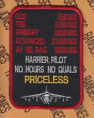 3-1//4in. PATCH-USMC Marines-HARRIER STREET