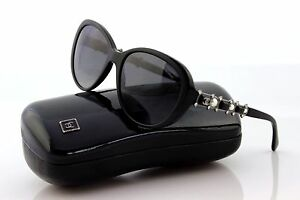9e673db51e90 RARE New LIMITED Edtn CHANEL BIJOU PEARL Polarized Sunglasses CH ...