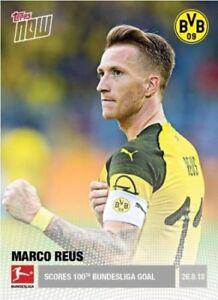 2018 Topps Now Bundesliga JADON SANCHO #49 Borussia Dortmund Print Run //141