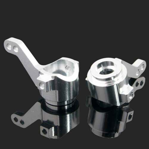 02014 Silver Alum Steering Hub Carrier RC 102011 L//R Fit HSP 1//10 Car Buggy
