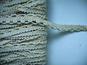 passementerie galon écru beige ancien neuf largeur 2 cm vente au mètre