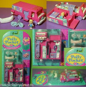 Polly Pocket Mini neuve ♥ Belle maison de camping-car neuve neuve Ovp 1994
