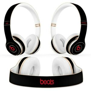 Black Protector Skin Sticker Decal For Beats Headphones Solo 2 Solo 3 Wireless Ebay
