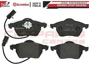 Pour-Audi-Seat-Skoda-VW-BREMBO-genuine-brake-pads-plaquettes-Essieu-avant-P85085