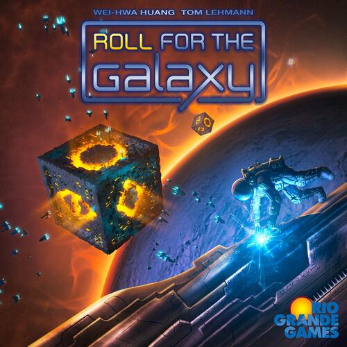 Roll for the Galaxy  base core board game Rio Grande New