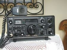 YAESU FT-301D HF HAM RADIO TRANSCEIVER WITH FP 301 POWER SUPLY AND MIC