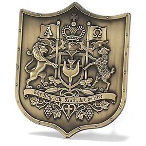 Tabletop Plaque - Christian Coat of Arms, New, Free Shipping