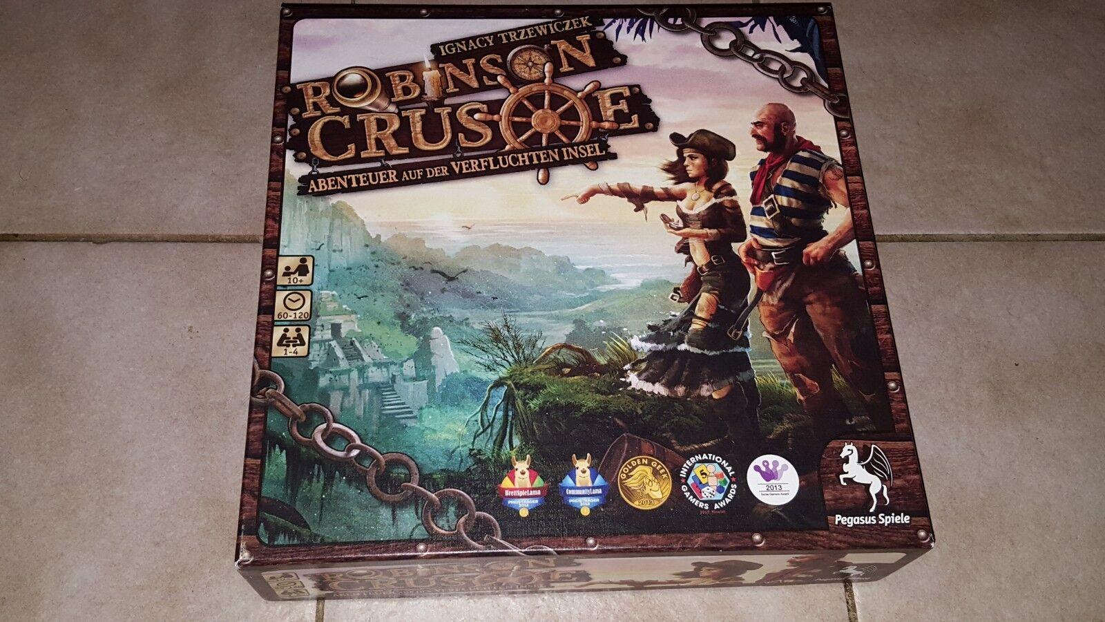 Pegasus Spiele 51945G & 51946G - Robinson Crusoe & Erweierung Beagle - top