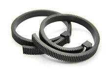 Adjustable rubber Gear Ring Belt for Follow Focus Rig for Canon Nikon DSLR Lens