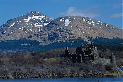 Art Prints Rational 691057 Kilchiurn Castle Loch Awe A4 Photo Print