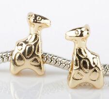 2pcs Charms Beads Fit sterling 925 Necklace European charm Bracelet Chain #Q270
