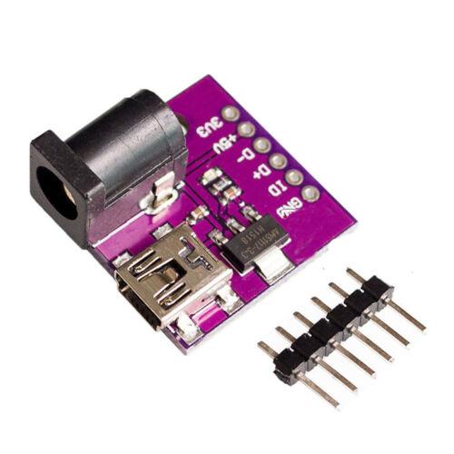 AMS1117-3.3V Power Supply Modul Mini USB DC Power Jack 5V//3.3V AIP