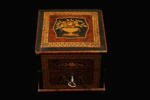 Boite-a-parfum-marqueterie-de-bois-precieux-XIXeme-Perfume-box-19th