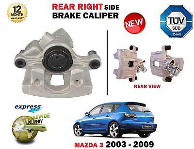Fits Mazda 3 2.3 MPS Genuine Mintex Rear Brake Caliper Accessory Fitting Kit