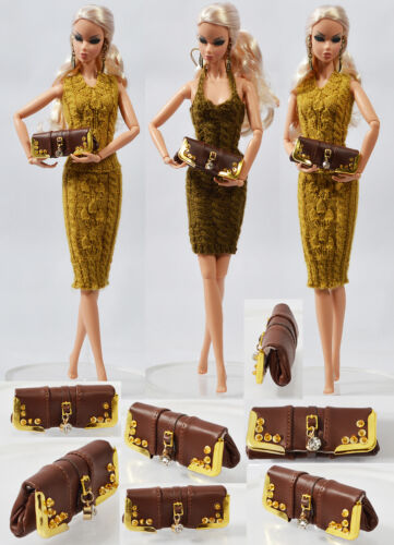 """12/""""Fashion Royalty Sybarite Ficon Inamorata Modsdoll 16/"""" Tonner Doll Bag 22Bag-4"""