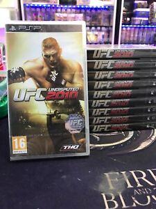 JEU-VIDEO-PSP-UFC-2010-UNDISPUTED-NEUF-SOUS-BLISTER-FRANCAIS