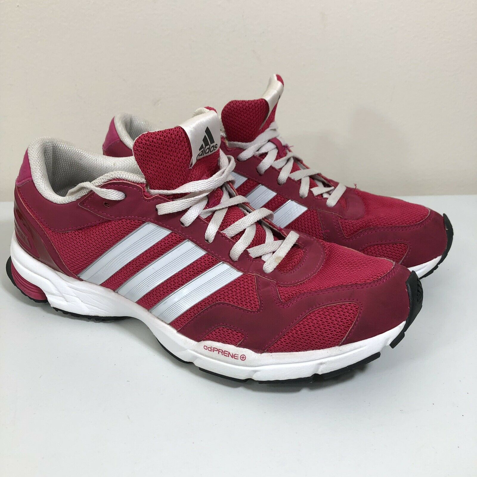 Men's Adidas PINK Tennis shoes Aktiv Against Cancer Size 10 Running Sneakers