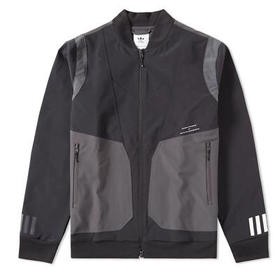 adidas x White Mountaineering Varsity Jacket Men Size XL AY3128 BlackGrey NWT! | eBay