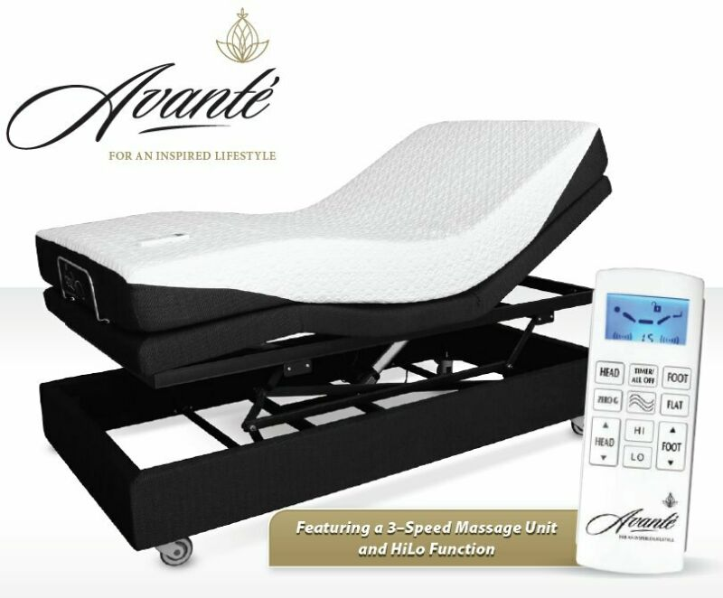 Electric Adjustable Bed - SmartFlex 3 - Launch Special, FREE DELIVERY - with massage function.