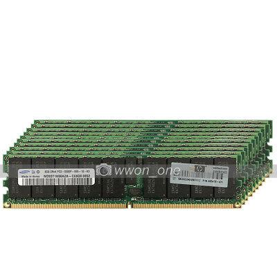 Samsung 64GB 8x8GB 2Rx4 667MHz Register DDR2 240pin ECC Supermicro X7DCL Memory