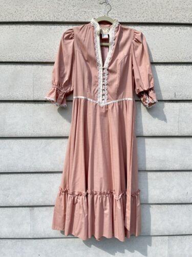 Vintage Gunne Sax Pink Dress
